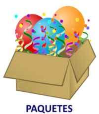 Paquetes para fiestas infantiles
