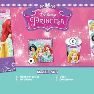 Paquete Princesas de Disney